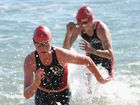 Jellyfish reign on beach as aquathon is moved to pool