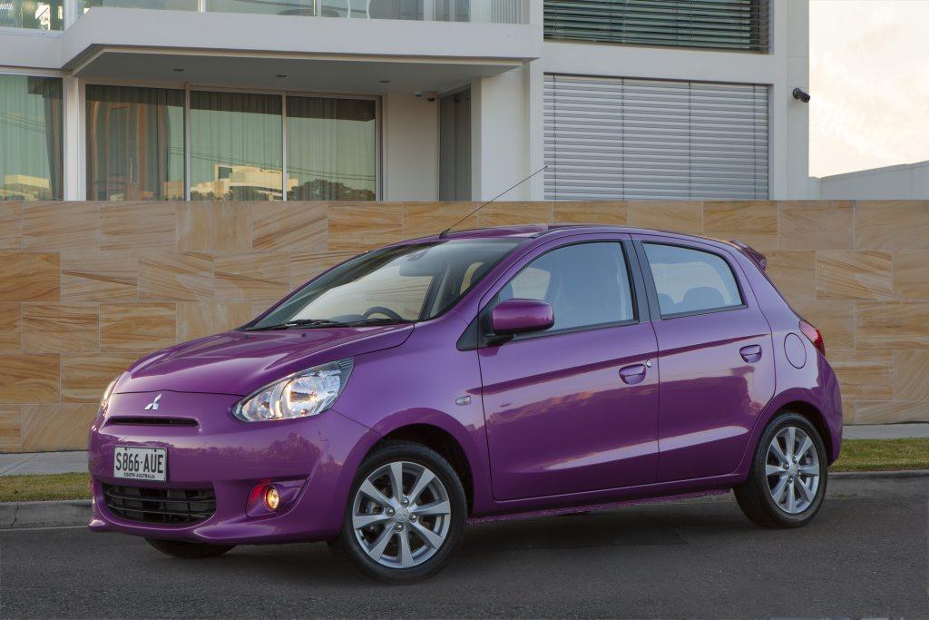 Mitsubishi's new Mirage.