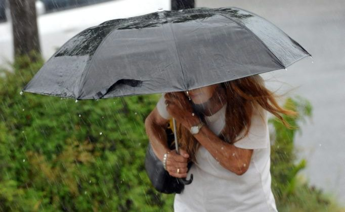 It is a weekend of wet weather for Toowoomba.