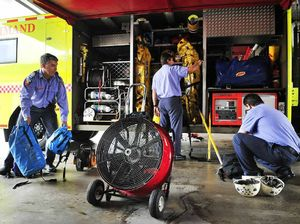 Firies ready for floods as Wivenhoe releases begin