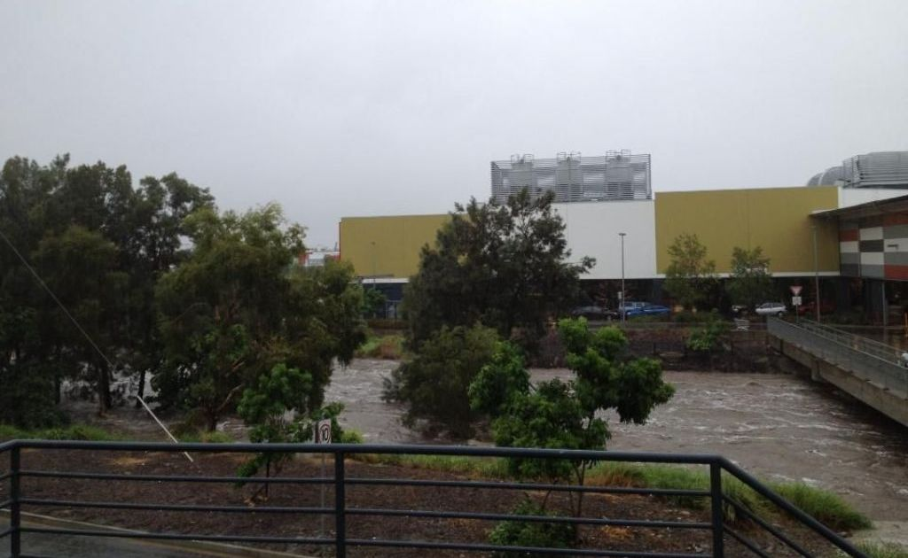 Photo of Stockland Rockhampton Thursday afternoon