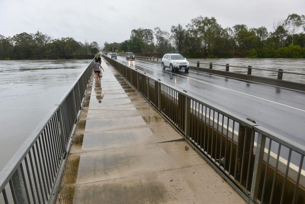 Heavy rain is once again impacting the Gladstone region. (File photo)