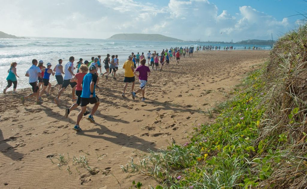 The run leg of Sunday's Westpac Life Saver Rescue Helicopter's Coffs Coast Charity Walk has been changed.