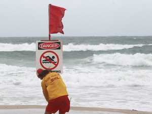 Lifesavers warn: stay out of dangerous three-metre surf