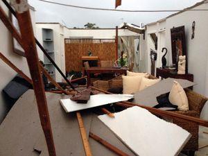 First pictures of Burnett Heads devastation