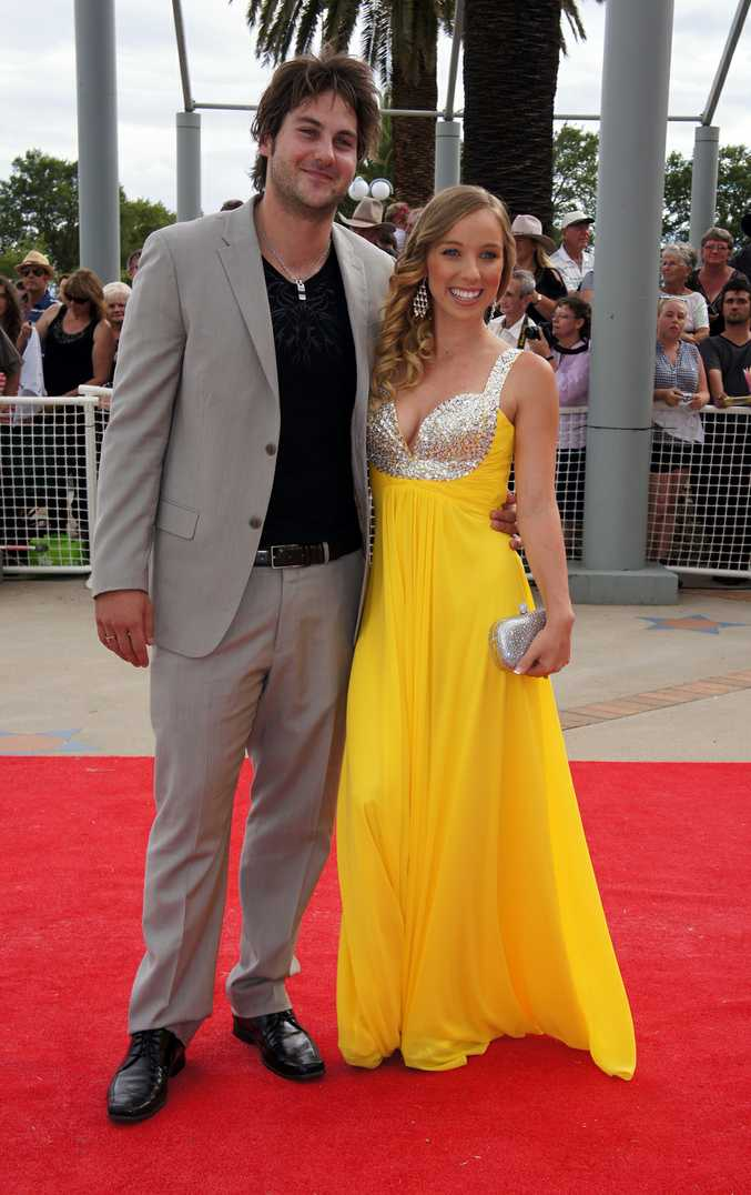 New Talent of the Year nominee Chelsea Basham in brilliant yellow.