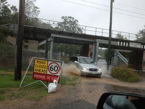 Towns cut off on Sunshine Coast as rain floods region