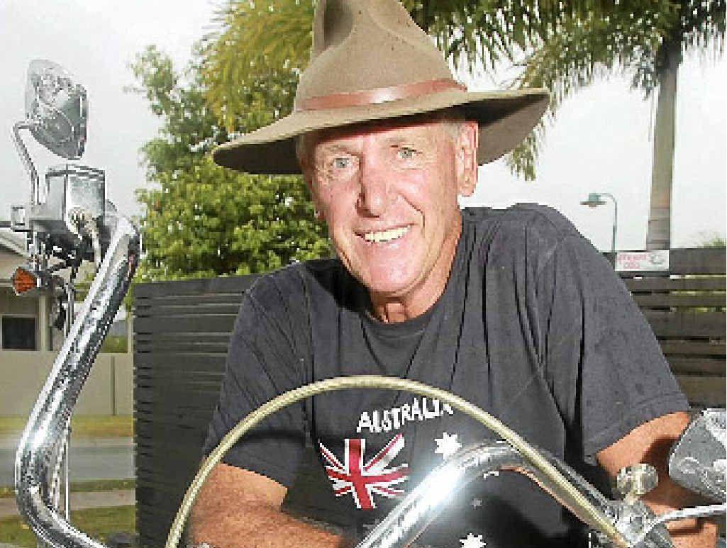 TRUE BLUE: Peregian Springs' James Breeze, a Vietnam veteran, is one very proud Aussie.