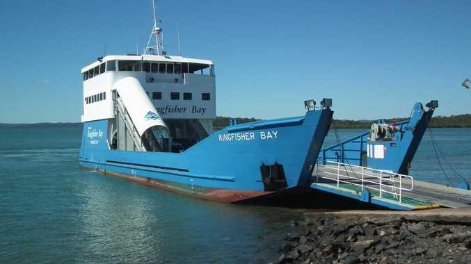 Fraser Island Ferry Job
