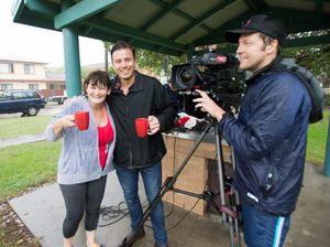 Big wet makes Coffs a star on breakfast television