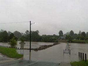 Flood warnings sees Bellingen's Lavenders Bridge closed