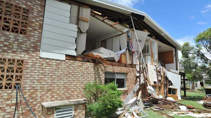 Houses and businesses in Burrum Heads were devastated by the January tornado.