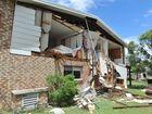 Burrum Heads tornado - Ann and Barry Roberts house in Burrum St.