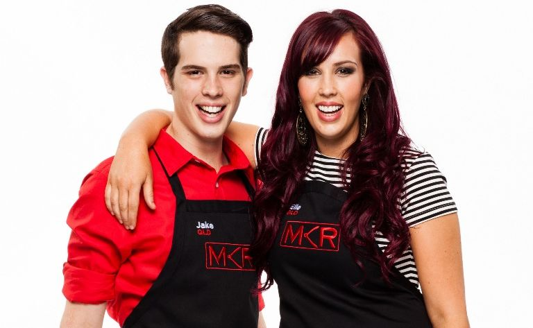 Siblings Elle and Jake Harrison of Minyama represent the Sunshine Coast in 2013 season of My Kitchen Rules.