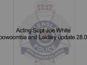 Toowoomba flood update