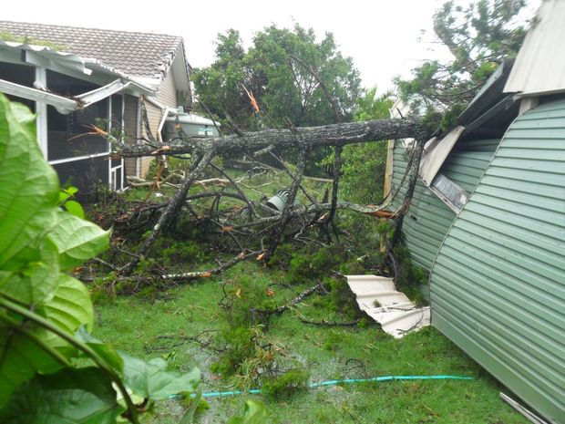 Toogoom devastation on the Fraser Coast. Photo by Elaine Howard
