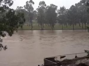 Oakey creek flood