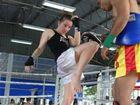 Sharna Mercer drilling knees in training.