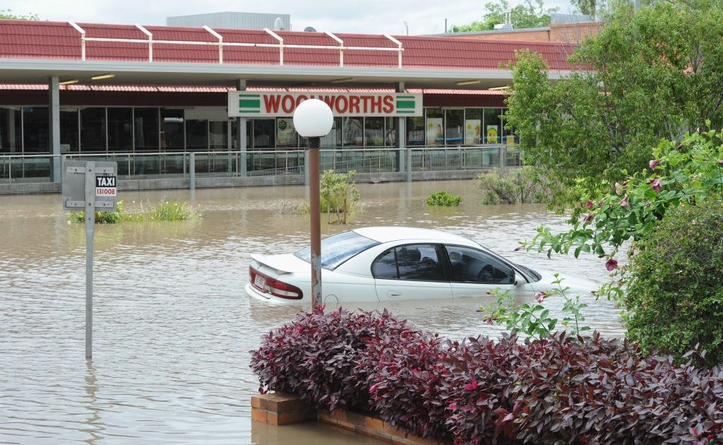 Cars simply cannot cope with floodwater.