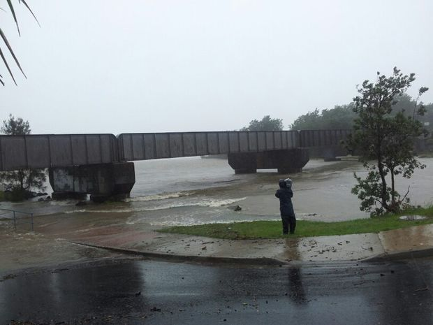The Bureau of Meteorology has issued a 'flood watch' for the Coffs Creek over the next 24 hours.