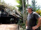 Teen pinned as tree falls on Nunderi house in storm