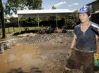 Laidley Kindergarten teacher Barbara Buchanan faces a second big clean-up in as many years.