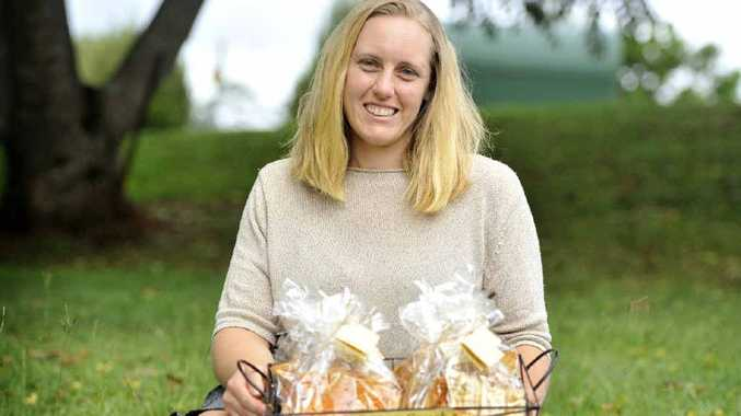 TASTY: Simone Stewart of Country Crunch near Kyogle.