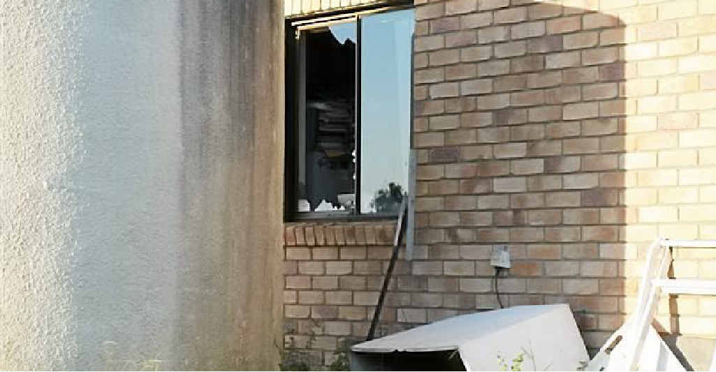 Councillor Laurence Bonaventura has been a victim of gun thefts, after theives smashed a window at his home.