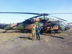 Sisters reunited by flood crisis as defence force arrives