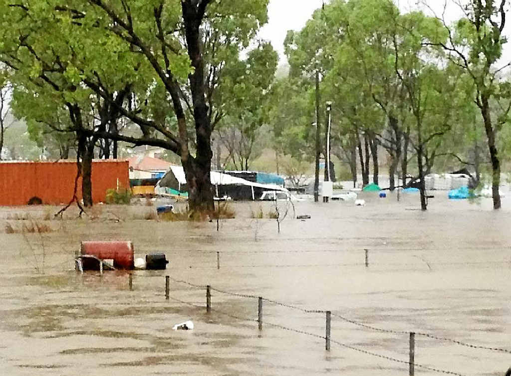 DAMAGE DONE: The destruction caused by flooding in Stanwell has devastated residents.