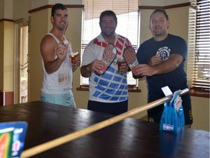 Thong pong is a hit for stranded Goomeri boys