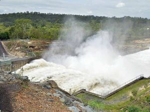 130% full Wivenhoe releasing 1660 cubic metres per second