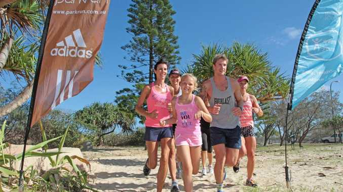 Join the free Parkrun group at Golden Beach to boost your fitness and meet new friends.