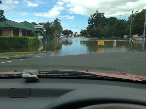 The Bundaberg region reached a record flood high on January 29.