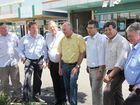 Andrew Mead, Principle Extension officer – DAFF , John McVeigh, Paul Neville, Warren Truss, Keith Pitt (candidate Hinkler), John Cobb, Ken ODowd