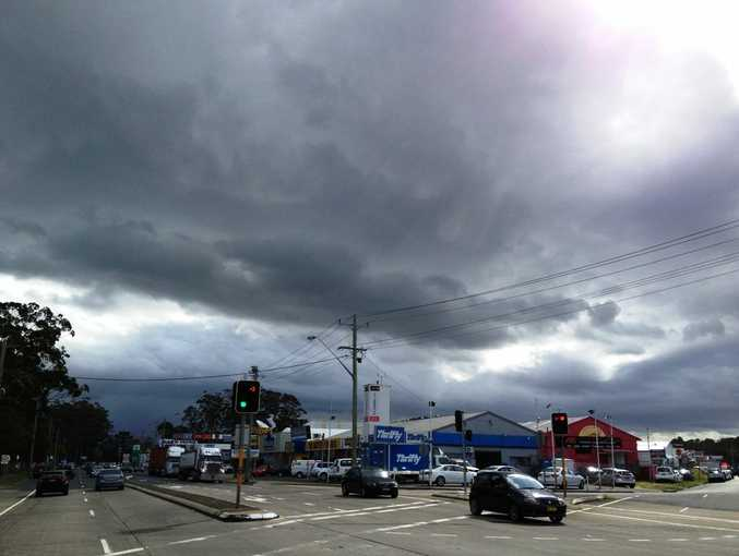 A series of severe thunderstorms over Central Queensland yesterday brought much needed rain to some areas.