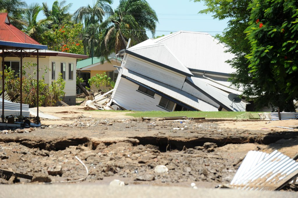 A BUILDING industry spokesman has called on insurance companies to cut red tape and engage more Bundaberg tradesmen to carry out flood repair works.