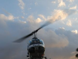 Elmes says time for council to end helicopter buzzing