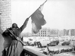 70th anniversary of the Red Army in Stalingrad
