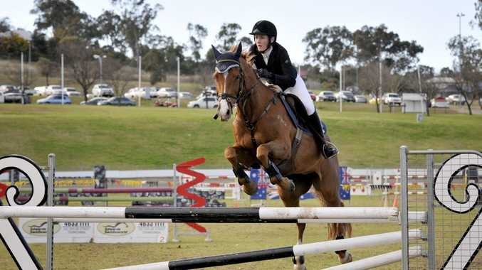 Toowoomba equestrian rider Mattea Davidson was named Equestrian Queensland sports star of the year.