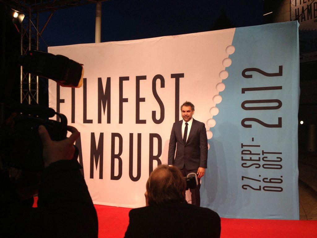 Wayne Blair at the Hamburg Filmfest 2012.