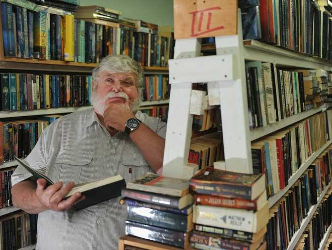 John Lawrence at Truro Street Book Store is concerned that Kindles will be replacing hard copy books.