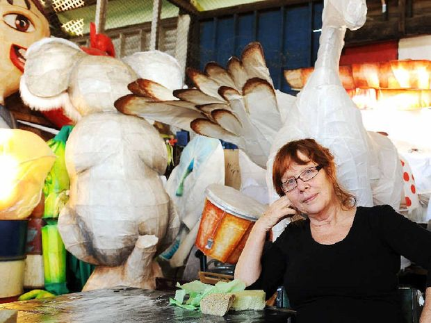 HELPING OUT: Lantern parade director Jyllie Jackson will send a handful of members from the LightnUp group to do lantern workshops in flood ravaged Bundaberg.