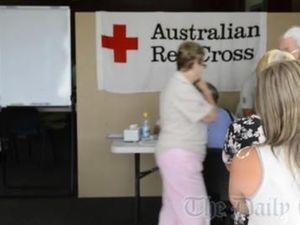 Deputy Premier opens flood relief centre in Grafton