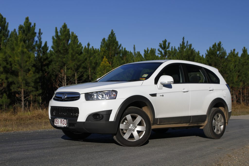 Holden's Captiva was the most popular SUV during January.
