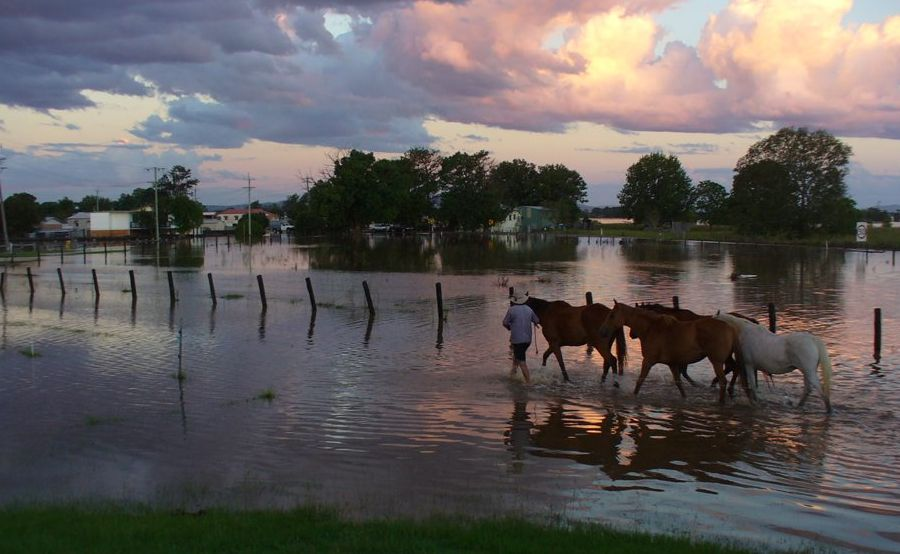 Farmers affected by floods can apply for low interest loans.