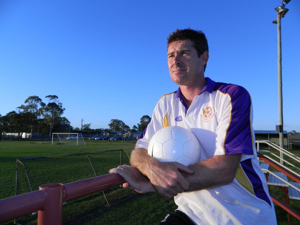 STEPPING UP: Peter Guest has stepped up to the role of Football Wide Bay's admin officer.