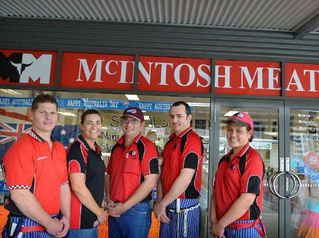 Tony Delaney, owner operators Amanda and Matt Stevenson, Dean Sheperd and Jasmine Graham.