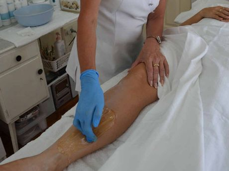 Debra Wren offers sugaring, a new way to wax, at Country Day Spa on Smelter Rd.