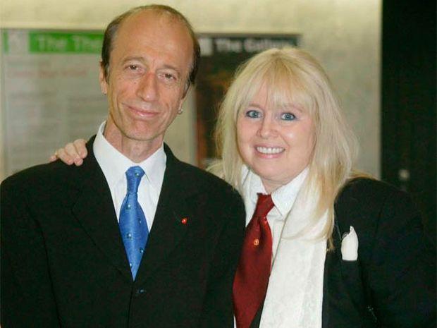 Dwina with Robin Gibb
